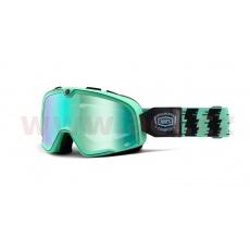 brýle Barstow Classic Ornamental Conifer, 100% (zelená, zelené chrom plexi)
