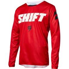 Pánský MX dres SHIFT Whit3 Ninety Seven 2018 - red
