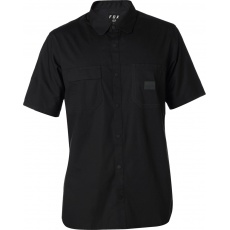 Pánská košile Fox Redplate Flexair Work Shirt Black
