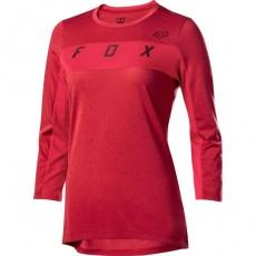 Dámský dres Fox Womens Ranger Dr 3/4 Jrsy Cardinal