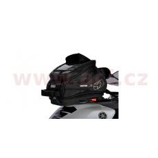 tankbag na motocykl Q4R QR, OXFORD (černý, s rychloupínacím systémem na víčka nádrže, objem 4 l)