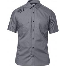 Pánská košile Fox Redplate Flexair Work Shirt Grey