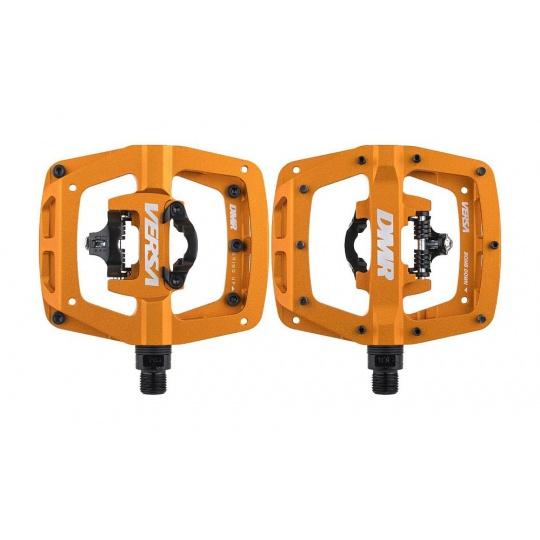 DMR Versa (One side SPD) pedály - oranžové