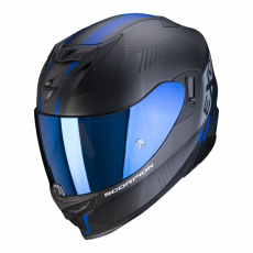 Moto přilba SCORPION EXO-520 AIR LATEN matná černo/modrá