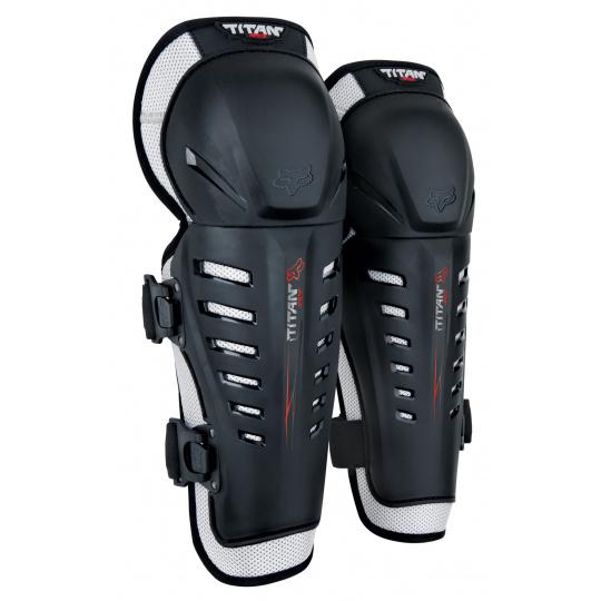 Chrániče kolen a holení Fox Racing Youth Titan Race Knee/Shin Guards Black OS