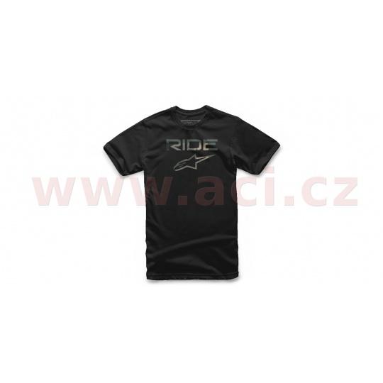 triko RIDE 2.0 CAMO TEE krátký rukáv, ALPINESTARS (černá)