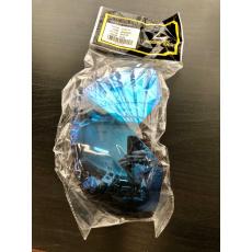 Plexi SCORPION EXO-100 zrcadlově modré 52-507-56