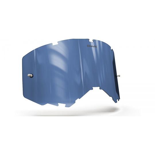 plexi pro brýle FLY RACING FOCUS /ZONE 2019, ONYX LENSES (modré s polarizací)