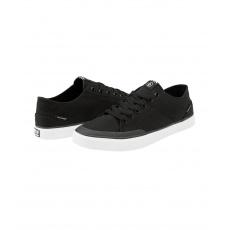 Pánské boty Volcom Leeds Canvas Shoe Black White