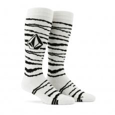 Pánské ponožky Volcom Lodge Sock White Tiger