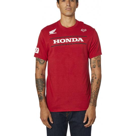 Pánské triko Fox Honda Ss Tee Chilli