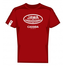 triko JAWA edice, CASSIDA (červená bordó)