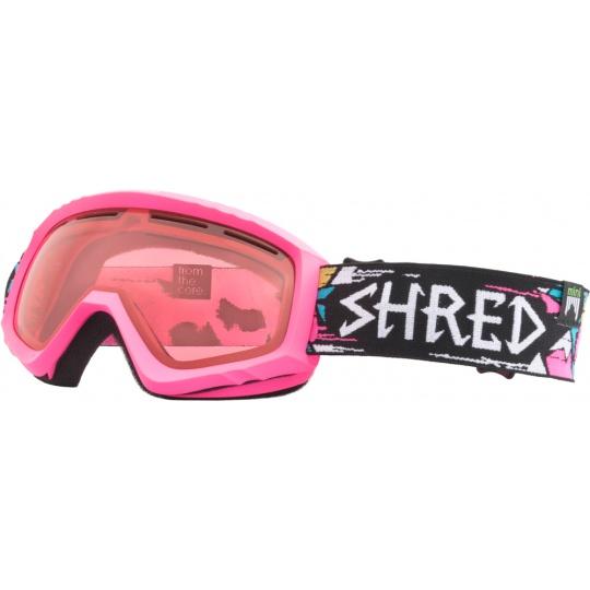 Dětské zimní goggle Shred Mini Fracture Pink