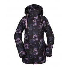 Dámská bunda Volcom Westland Ins Jacket Black Floral Print