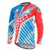 Alpinestars Sight Speedster L/S Jersey Red/Bright Blue