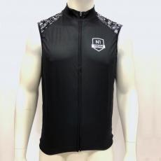 Pánská cyklo vesta Northwave Pro Windproof Light Vest Custom black