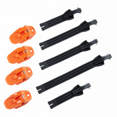 Náhradní pásky + přezky O´Neal pro boty RIDER PRO oranžová/černá