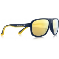 sluneční brýle RED BULL SPECT Sun glasses, LOOP-004, dark blue, yellow, brown with gold revo, 59-15-145