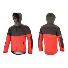 Alpinestars Tahoe Waterproof Jacket bunda Black Red DK Shadow