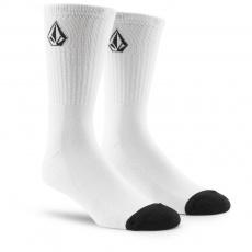Pánské ponožky Volcom Full Stone Sock 3Pk White
