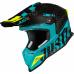 Moto přilba JUST1 J12 PRO RACER matná carbon/modrá