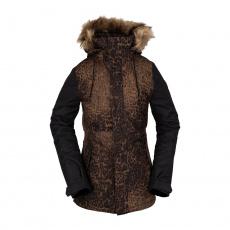 Dámská bunda Volcom Fawn Ins Jacket Black Combo