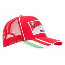 Kšiltovka Ducati Corse Red Snapback