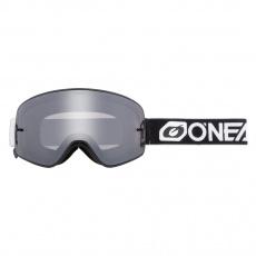 Brýle O´Neal B-50 Force PRO PACK V.22 černá/bílá zrcadlová