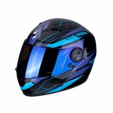 Moto přilba SCORPION EXO-490 NOVA černo/modrá