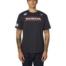 Pánské triko Fox Honda Ss Tee Black