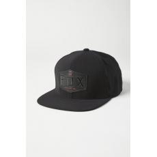 Pánská čepice Fox Emblem Snapback Hat Black