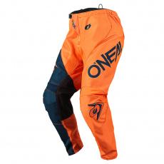 Kalhoty O´Neal Element RACEWEAR oranžová/modrá