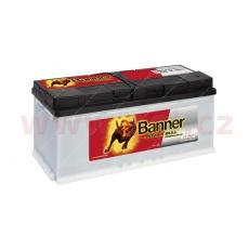 100Ah baterie 820A, pravá BANNER Power Bull Professional 354x175x190