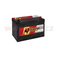 95Ah baterie, 740A, pravá BANNER Power Bull 303x173x203(225)