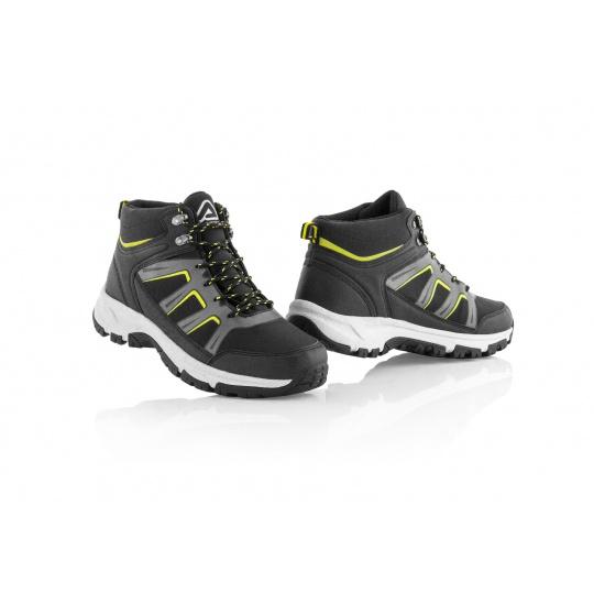ACERBIS boty MUDčerná/žlutá
