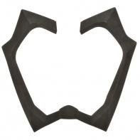 těsnění průzoru pro přilby SWITCH, AIROH - Itálie (černé)