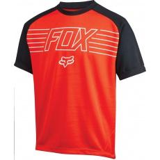 Dětský cyklo dres Fox Racing Youth Ranger Print Jersey Red