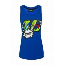 Dámské tílko Valentino Rossi VR46 POP ART modré 352316