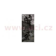 nákrčník víceúčelový MX, ROLEFF (černý/šedý)
