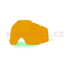 plexi Racecraft/Accuri/Strata, 100% (tmavě oranžová, Anti-fog)
