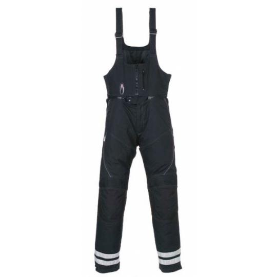 Moto kalhoty RICHA BIB REFLEX LONG černé prodloužená délka