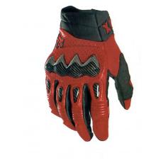 Pánské rukavice Fox Bomber Glove Flame Red
