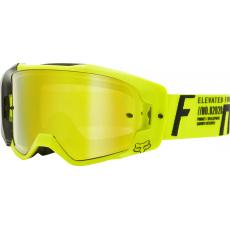 Pánské brýle Fox Vue Rigz Goggle - Spark Fluo Yellow