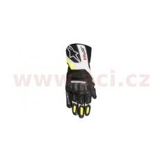 rukavice SP-8, ALPINESTARS (černé/bílé/žluté)