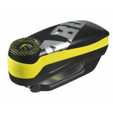 Zámek na moto ABUS 7000 RS1 Detecto pixel yellow