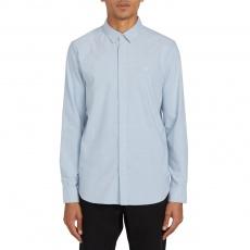 Pánská košile Volcom Oxford Stretch L/S Wrecked Indigo