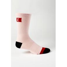 "Dámské cyklo ponožky Fox W 6"" Flexair Merino Sock Pale Pink OS"