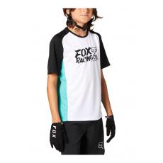 Dětský dres Fox Yth Defend Ss Jersey Teal