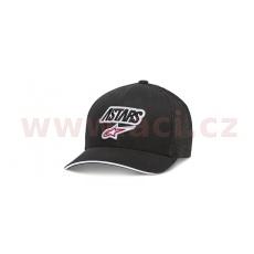 kšiltovka RACE ANGLE MESH HAT, ALPINESTARS (černá/černá)