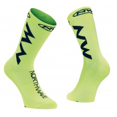 Pánské ponožky Northwave Extreme Air ock Yellow Fluo/Black